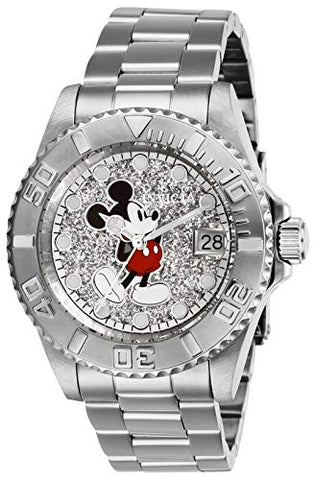 Invicta Women's 27381 Disney  Quartz 3 Hand Silver Dial Watch