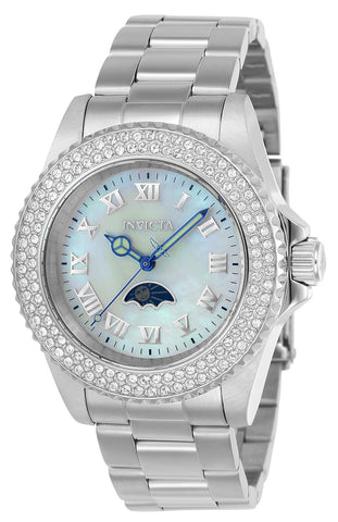 Invicta Women's 23829 Sea Base Quartz 3 Hand White Dial Watch