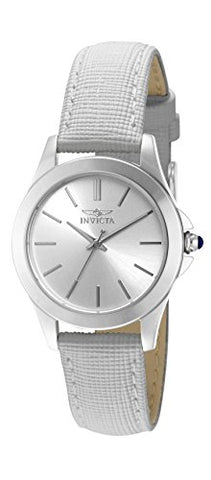 Invicta Women's 15147 Angel Quartz 3 Hand Silver Dial Watch