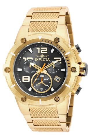 Invicta Men's 19530 Speedway Quartz Chronograph Black Dial Watch