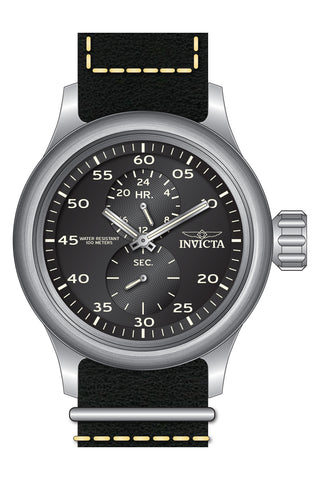 Invicta Men's 19494 Russian Diver Quartz Chronograph Black Dial Watch