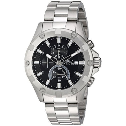 Invicta Men's 'Pro Diver' Quartz Stainless Steel Casual Watch, Color:Silver-Toned (Model: 22749)