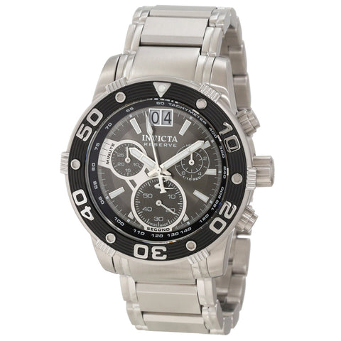 Men's Invicta 10589 Ocean Reef Reserve Swiss Chronograph Grey Dial Watch