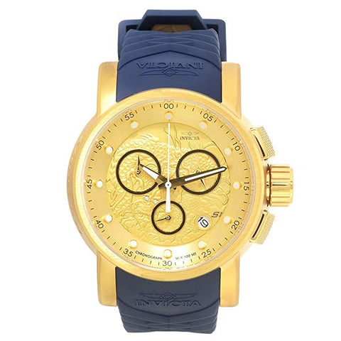 Invicta 11686 Men's S1 Rally Quartz Chronograph Yellow Dial Watch