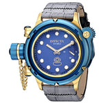 Invicta 16198 Men's Russian Diver Analog Display Mechanical Hand Wind Grey Watch