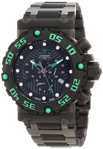 Invicta Men's 10049 Subaqua Nitro Diver Chronograph Black Dial Watch [Watch] ...