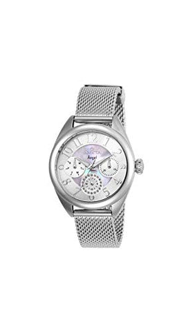 Invicta Women's 27453 Angel Quartz Chronograph White, Silver Dial Watch