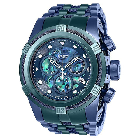Invicta  Men's 25919 Reserve Quartz 3 Hand Blue Dial Watch