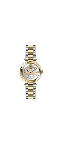 Invicta Women's 28930 Angel Quartz 3 Hand White, Gold Dial Watch