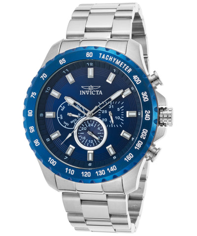 Invicta Men's 24212 Speedway Quartz Multifunction Blue Dial Watch