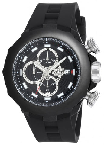 Invicta 16909 Men's I-Force Quartz Multifunction Black Dial Watch