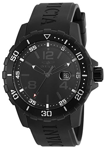 Invicta Men's 21549 Specialty Quartz Chronograph Black Dial Watch