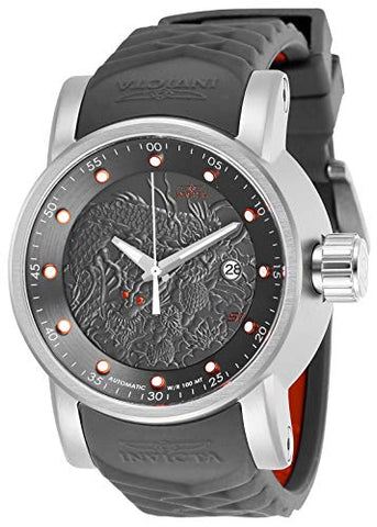 Invicta Men's 28172 S1 Rally Automatic 3 Hand Gunmetal Dial Watch