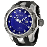 Invicta 6587 Men's Reserve Collection GMT Analog Black Rubber Watch