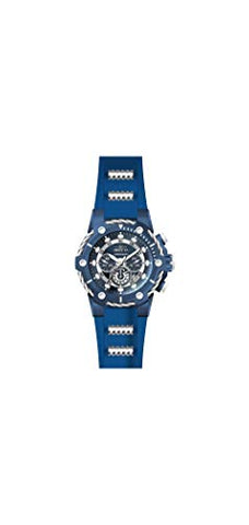 Invicta Men's 28035 Bolt Quartz Chronograph Blue Dial Watch