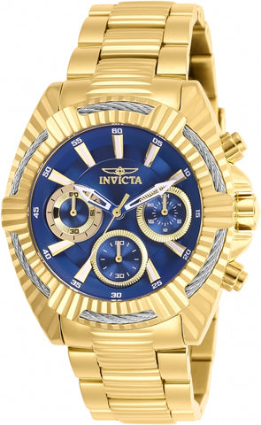 Invicta Women's 27187 Bolt Quartz Chronograph Blue Dial Watch