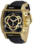Invicta Men's 27932 S1 Rally Quartz Multifunction Black, Gold Dial Watch