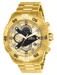 Invicta Men's 26098 S1 Rally Quartz Multifunction Gold Dial Watch