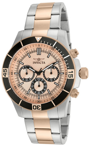 Invicta Men's 12842 Specialty Chronograph Rose Dial Watch [Watch] Invicta