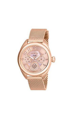 Invicta Women's 27454 Angel Quartz Chronograph Rose Gold Dial Watch