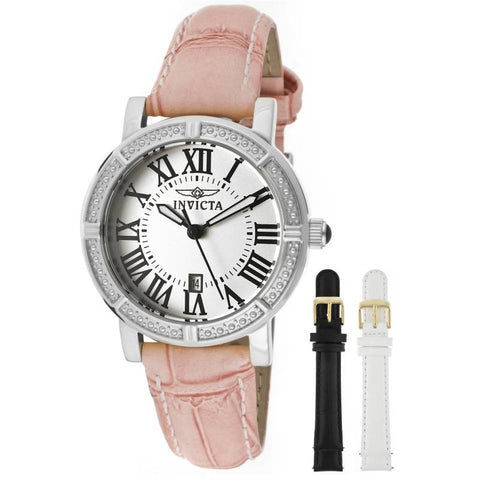 Invicta Women 13967 Wildflower Stainless Steel Watch with Interchangable Straps