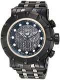 Invicta Mens 16951 Reserve Black Dial New Stainless Steel Watch