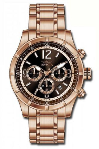 Invicta Men's 11378 Specialty Quartz Chronograph Brown Dial Watch
