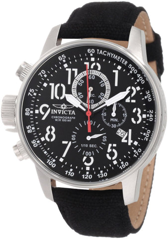 Invicta Men's 1512 Force Quartz Chronograph Black Dial Watch