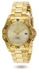 Invicta Men's 9618 Pro Diver Automatic 3 Hand Champagne Dial Watch
