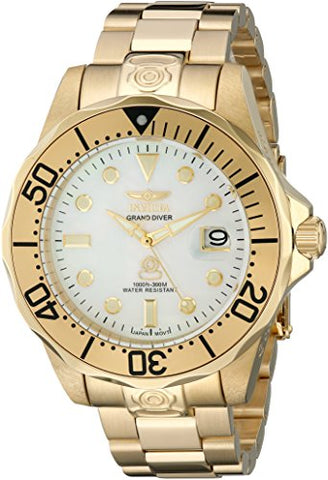 Invicta Men's 3052 Pro Diver Automatic 3 Hand White Dial Watch