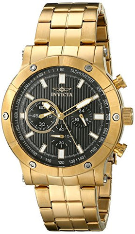 Invicta Men's 18163 Specialty Quartz Multifunction Black Dial Watch