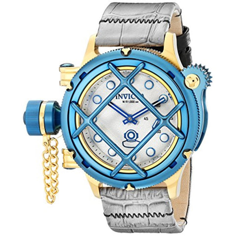 Invicta 16199 Men's Russian Diver Analog Display Mechanical Hand Wind Grey Watch