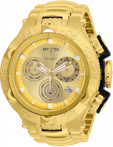 Invicta Men's 26632 Subaqua Quartz Chronograph Gold Dial Watch