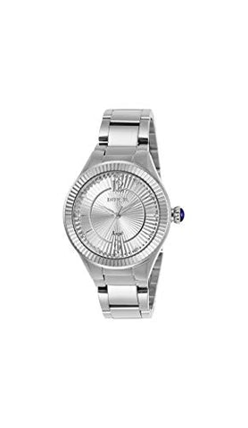 Invicta Women's 28328 Angel Quartz 3 Hand Silver Dial Watch