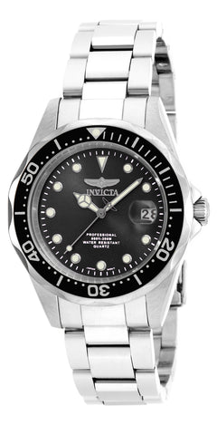Invicta Men's 17046 Pro Diver Analog Display Japanese Quartz Silver Watch