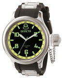 Invicta Men's 1433 Russian Diver Quartz 3 Hand Black Dial Watch