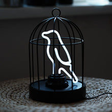 Load image into Gallery viewer, Neon Bird in a Cage