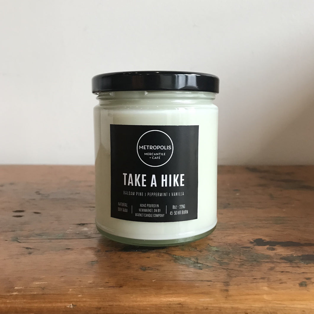 Take A Hike Candle