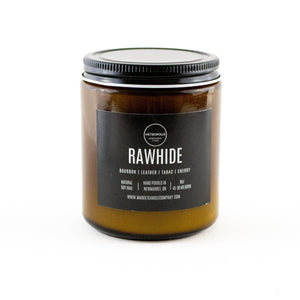 Rawhide Candle