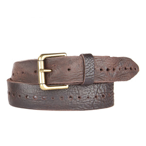 BRAVE LEATHER | Anda Belt Brown