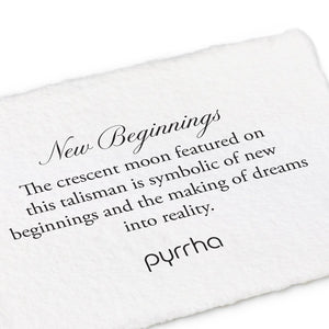 PYRRHA - New Beginnings Talisman