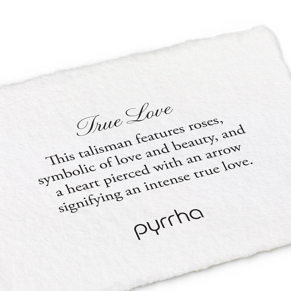 PYRRHA - True Love Talisman