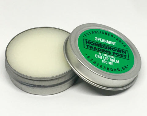 CBD Lip Balm Spearmint