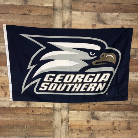 Georgia Southern Athletic Logo Flag 3'x5'