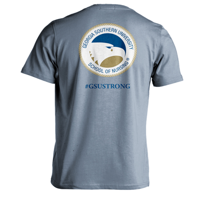 GSU Nursing Crying Eagle Tee