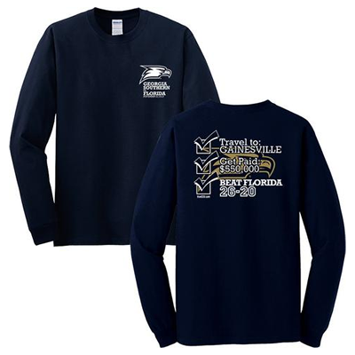 Georgia Southern | Beat Florida | Hail Southern T-Shirts | Long Sleeve | TrueGSU.com