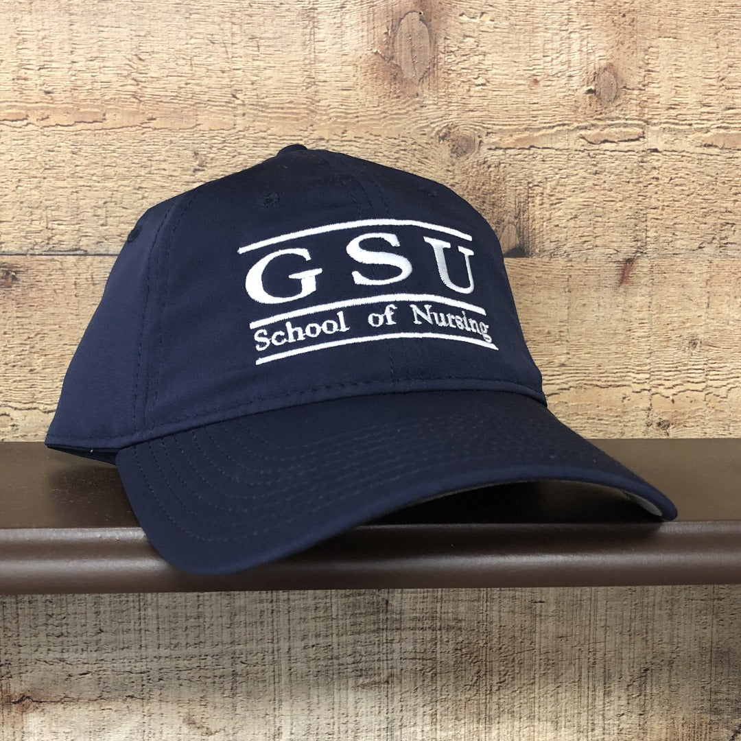 Navy Georgia Southern School of Nursing Relaxed Performance Hat