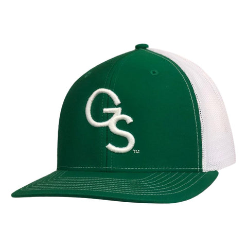 GS Trucker Hat Green with White