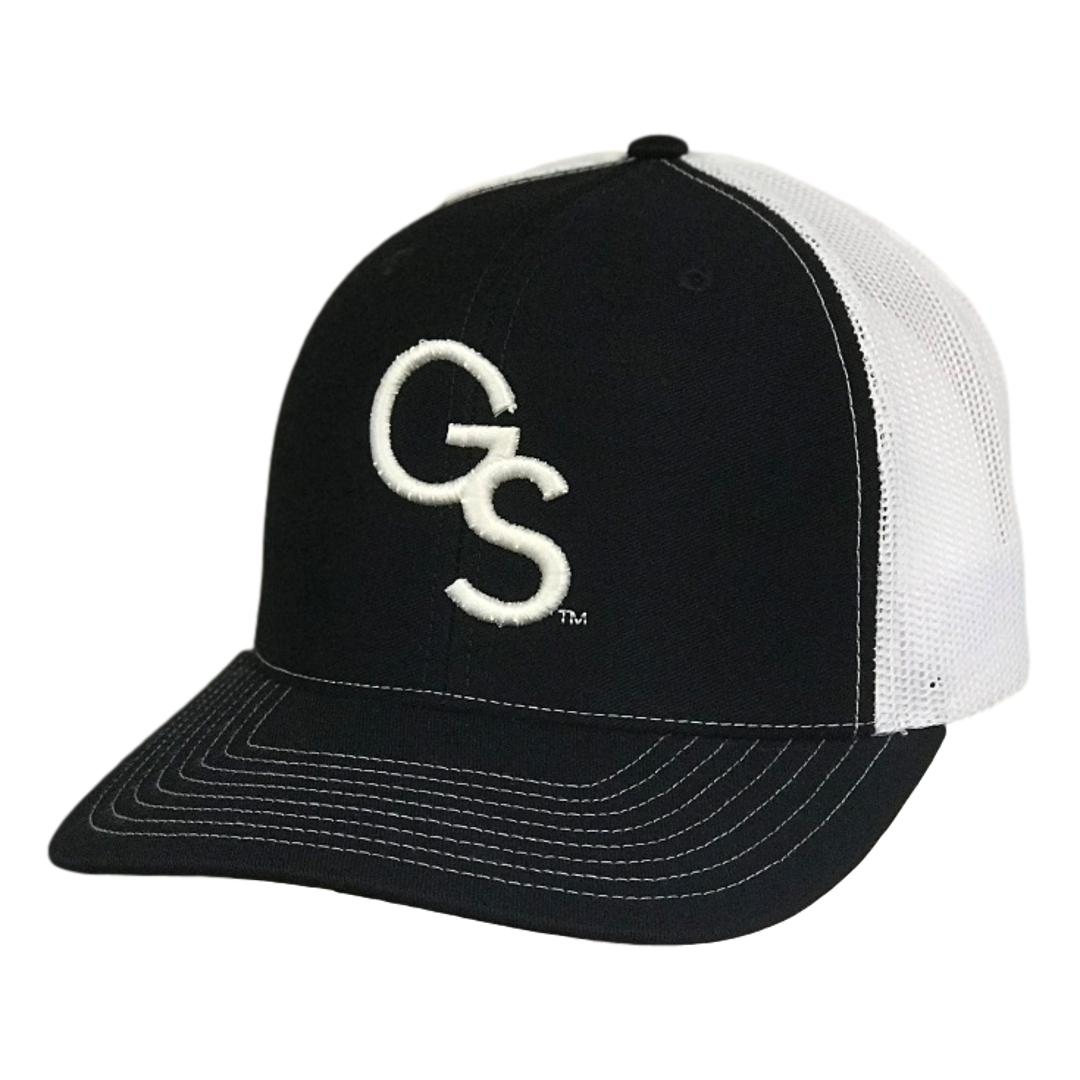 GS Trucker Hat Navy with White