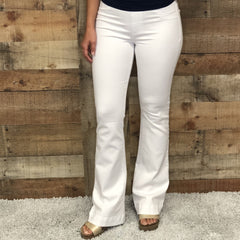 Flare Jegging White Wash